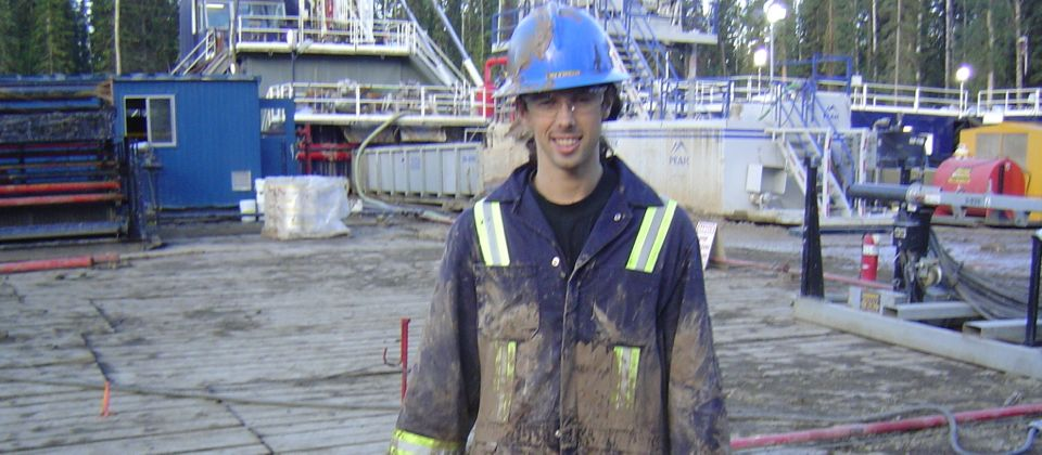 Working as a rig pig, Canada, 24 yrs old