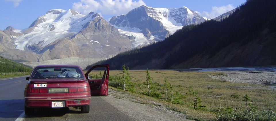 Exploring the awe inspiring Rocky Mountains, Canada, 24 yrs old
