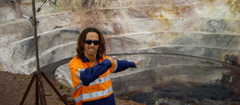 Working the mines, Western Australia, 26 yrs old
