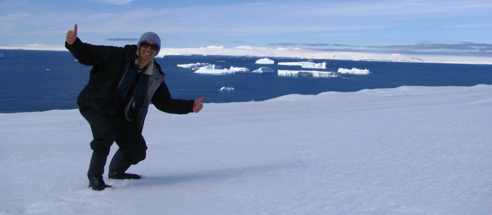 I MADE IT! Antarctica, 28 yrs old