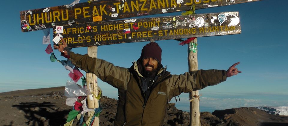 11/11/11 Celebrating the completion of my goal, Mt Kilimanjaro, Tanzania, 30 yrs old